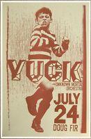 YUCK 2011 Gig POSTER Portland Oregon Concert