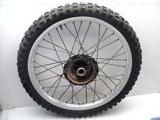 #4029 Yamaha YZ125 YZ 125 Aluminum Front Wheel & Tire