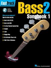 FastTrack Bass Songbook 1 Level 2 - Music Instruction Book and Audio 000697298