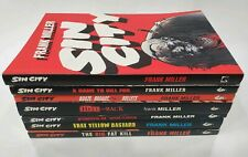 Sin City - Lot of 7 - Dame, Booze, Hell, Family, Yellow, Big - Graphic Novels