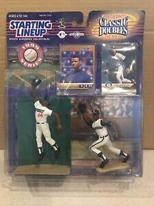 1999 STARTING LINEUP MLB Ken Griffey Jr. HASBRO 2 Figure Pack Spirit/Mariners