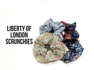Hair Scrunchies | Liberty London Fabric Hair Scrunchies | Floral Hair Scrunchies