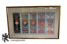 Yaacov Agam Signed Limited Edition Serigraph Print Abstract Art Israel Chai 18