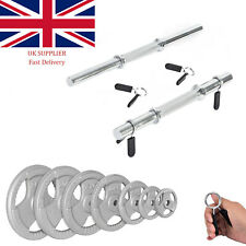 Dumbbell 25mm 1inch with Spring Collars Metal Clips and Weights 1.25KG 2.5KG 5KG