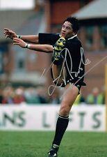 Zinzan BROOKE Signed Autograph New Zealand All Blacks RUGBY Photo A AFTAL COA