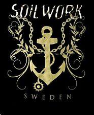 SOILWORK cd lgo SWEDEN - ANCHOR Official SHIRT XXL 2X New OOP