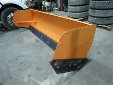 10 Snow Pusher With Steel Trippable Cutting Edge Loader Backhoe Skid Steer New