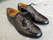 Cole Haan Connolly Men's Black Patent Leather Oxford Wingtip Shoes 9D Worn Once