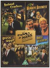 MARX BROTHERS COLLECTION 4 Movie Film Boxset Classic DVD NEW UK Not US