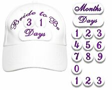 Bride to Be Countdown Cap For Social Media