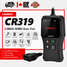 LAUNCH OBD2 Code Reader CR319 EOBD CAN Car Check Engine Fault Diagnostic Scanner
