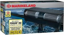 Fish Filters For Aquariums 50-75 Gal BIO-Wheel Power Filter 350GPH MULTI Filtrat