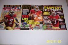 2013 DRAFT PREVIEW Colin Kaepernick LOTE San Francisco 49ers NEWS Base No