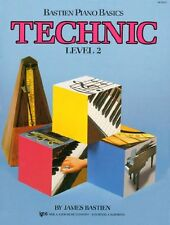 WP217 - Bastien Piano Basics - Technic Level 2
