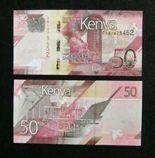 KENYA Paper Money 50 Shillings 2019 UNC