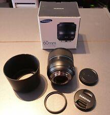 Samsung NX 60 mm f/2.8 Macro ED OIS SSA i-Function EX-M60SB