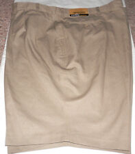 NEW EDWARDS CASUALWEAR MENS SHORTS PLEATED FRONT SIZE 54 TAN KHAKI COLOR