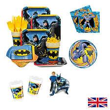 Dc Comics Packs Licensed Batman Superhero Supplies Party Tableware