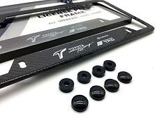 TRD RACING Carbon Fiber License Plate Frame Toyota 86 Celica Supra Camry Echo