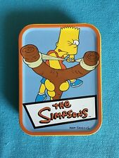2001 Rix The Simpsons Playing Cards Deck Complete Set Tin Krusty Homer Bart