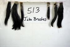 6 JAKE BRUSHES, EASTERN WILD TURKEY BEARDS-TAXIDERMY lot513