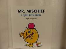 Large Size Mister Men Book MR MISCHIEF A SPOT OF TROUBLE