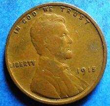 *1915-P* Lincoln Wheat Cent copper