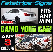 MINI COUNTRYMAN GRAPHICS CAMO STICKERS DECALS STRIPES ONE COOPER S JCW R60 1.6 D