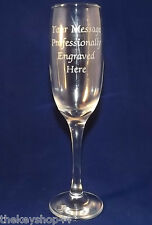 PERSONALISED PROSECCO GLASS FREE ENGRAVING BIRTHDAY GIFT 18th 21st 25th 30th