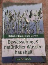 Ratgeber Blumen und Garten Bewässerung und natürlicher Wasserhaushalt