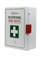 National Workplace First Aid Kit Wall Mount ABS Case by Trafalgar