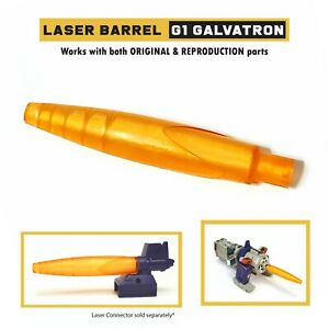 Replacement Laser Barrel Part for G1 Galvatron | Resin Printed