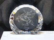 Swarovski Collector's Society AE 1998 - Pegasus plaque with original box