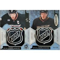 2011-12 THE CUP 1/1 RYAN GETZLAF / BOBBY RYAN DUAL NHL SHIELDS GAME-USED 1of1