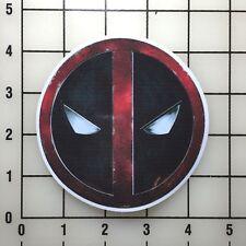 """Deadpool Mask 4"""" Wide Multi-Color Vinyl Decal Sticker - BOGO"""