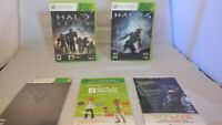 Halo Reach With Recon Helmet, Xbox Live Trial (Both Unused) & Manual Plus Halo 4