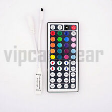 12V Mini RGB 44 KeysController/Remote Controller for 5050 3528 LED Strip USAShip