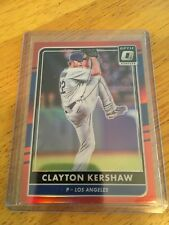 2016 Donruss Optic Clayton Kershaw Red Los Angeles Dodgers /99