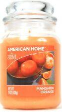 1 American Home By Yankee Candle 19 Oz Mandarin Orange Single Wick Glass Candle