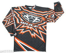 New Wulfsport Motocross Enduro Sz Xl Shirt Jersey Orange Ktm Sx Sxf Xcf Excf Mx