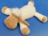 HAPPY PEOPLE SCHAF STOFFTIER 30 CM BEANIE SCHLAFEND SCHLENKER LAMM SHEEP