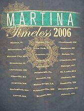 Martina McBride  T Shirt Size Medium Timeless Tour 2006 Brown