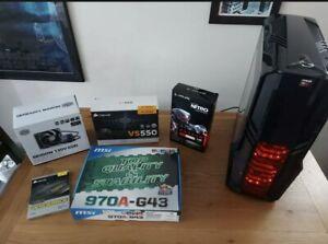 Custom Built Gaming PC RX 460- 4GB - DDR5 AMD FX 8350 Eight-Core Processor