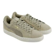 777fb7a14e76 Suede Classic Puma Mens Fashion Sneakers Pale Khaki Chinilla SIZE 7 US NEW