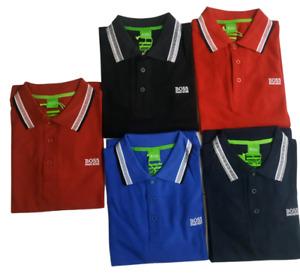 Hugo Boss Men's Paddy Polo Shirt Golf Original Short Sleeve Designer Shirts