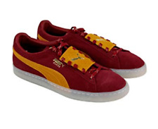 PUMA MEN'S SUEDE EPIC REMIX | Dark Red/Gold | Size: 12 US