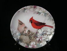 """Morning Serenade"" by Lena Liu - W.L George Fine China - Collector Plate - 1989"