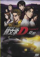 Initial D Movie ~ Legend 1 Awakening DVD NEW Eng Sub R3 AE86 Car Racing Cartoon