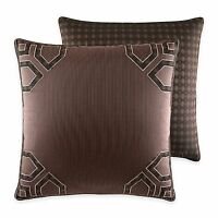 Croscill Wagner Square Pillow Chocolate