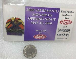 2000 Sacramento Monarchs Opening Night Pin